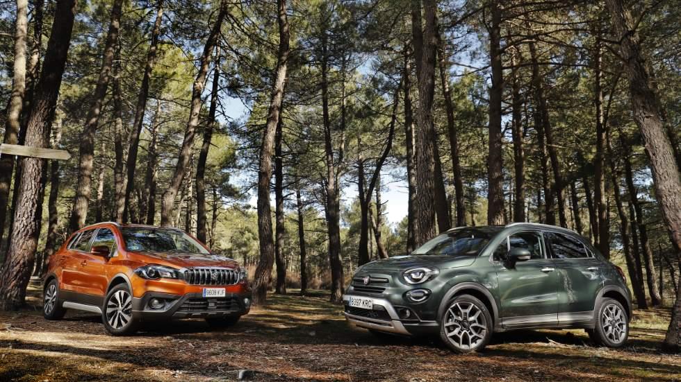 Fiat 500X 1.0 Firefly vs Suzuki S-Cross 1.0 VVT: ¿qué nuevo SUV de gasolina es mejor?