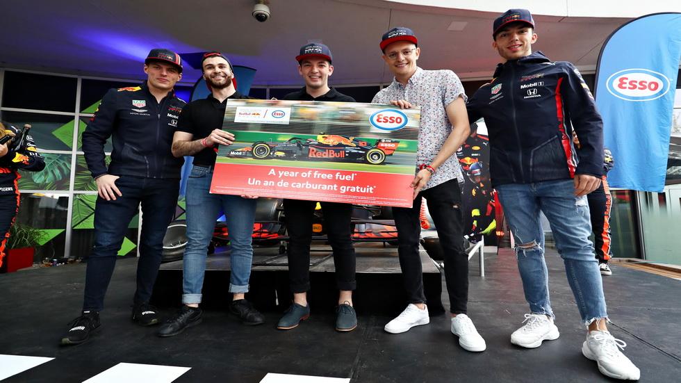 GP de Canadá de F1: los pilotos de Red Bull, muy ocupados