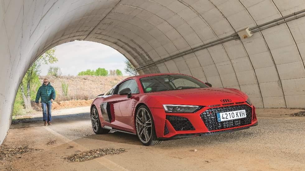 Audi R8 V10 Performance quattro 620 CV: a prueba un deportivo escalofriante