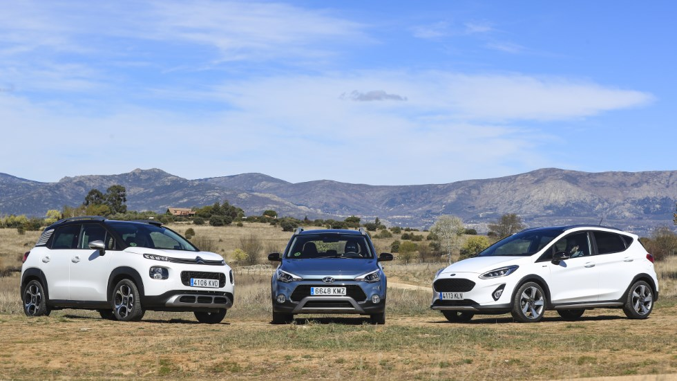 Citroën C3 Aircross, Ford Fiesta Active y Hyundai i20 Active: ¿cuál es mejor?