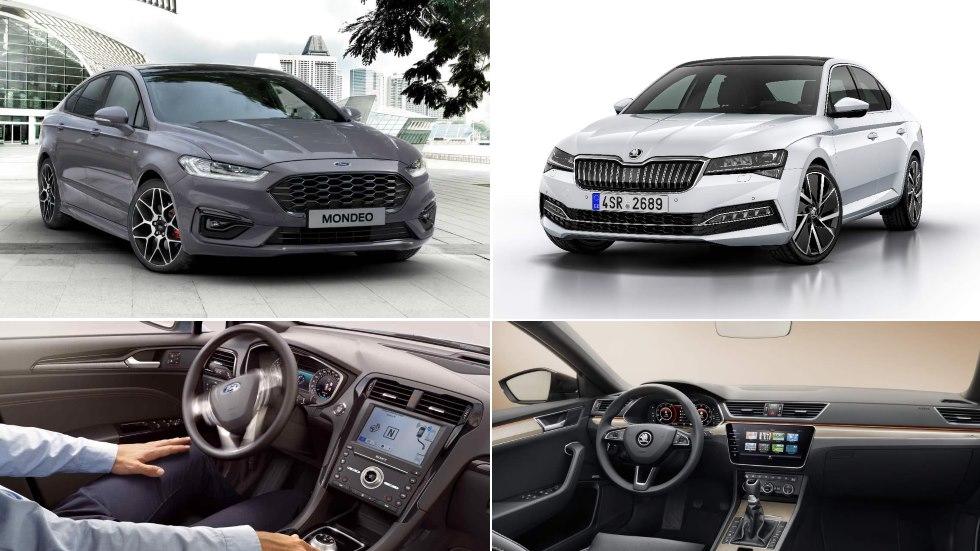 Ford Mondeo vs Skoda Superb: el gran duelo de nuevas berlinas en 2019