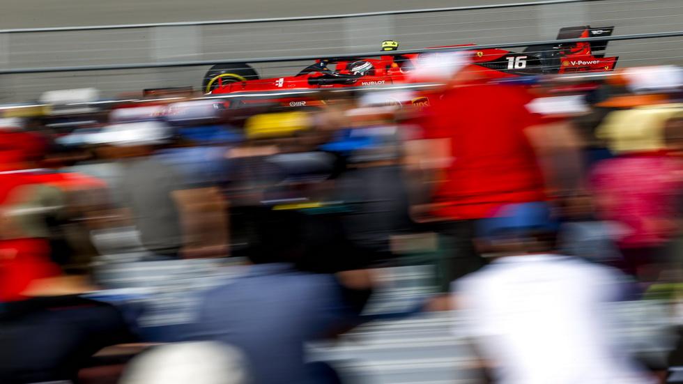GP de Canadá de F1 (FP2): Leclerc el más rápido, Hamilton toca el muro