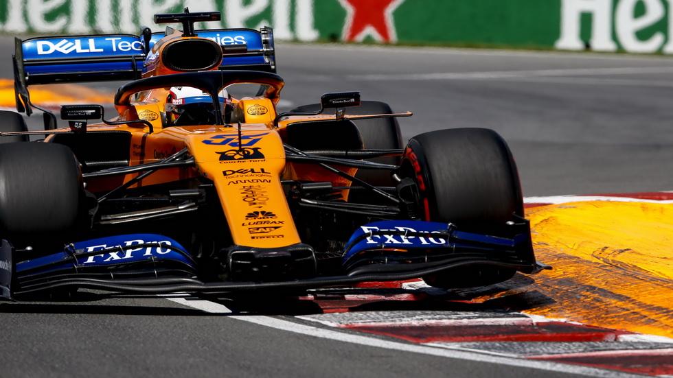 GP de Canadá de F1: Sainz perdió dos posiciones al final de la carrera