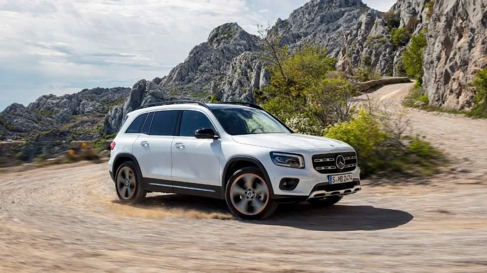 Mercedes GLB 2019: fotos y todos los datos oficiales del nuevo SUV de 7 plazas
