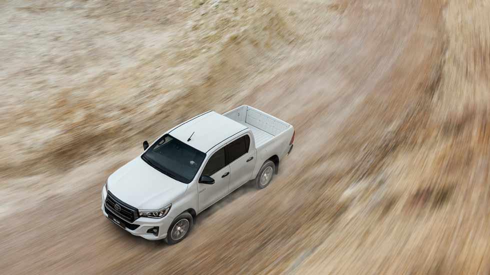 Toyota Hilux 2020: más seguridad y nueva edición Legend Black