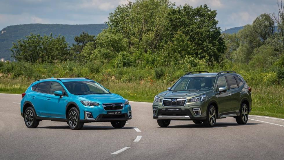 Subaru Forester y XV Eco Hybrid: todos los precios y datos de los SUV, ya a la venta