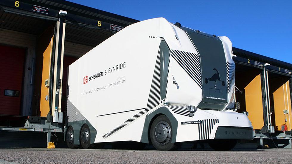 T-Pod, así es el primer camión eléctrico y autónomo que ya se ha presentado (vídeo)