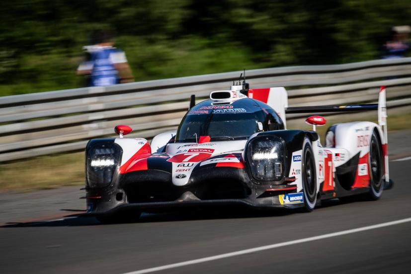 24H de Le Mans: el Toyota nº 7 de Kobayasi, el más rápido en los entrenamientos libres