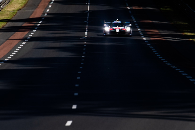 24H de Le Mans (calificación 1): el Toyota nº 7 con la pole position provisional, el de Alonso, cuarto