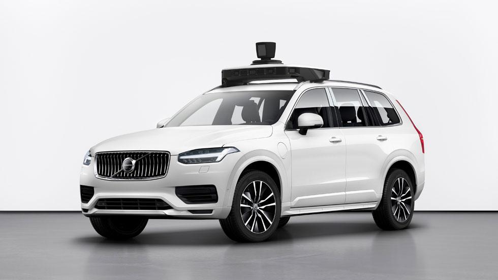 Volvo y Uber hacen realidad su primer coche autónomo (vídeo)
