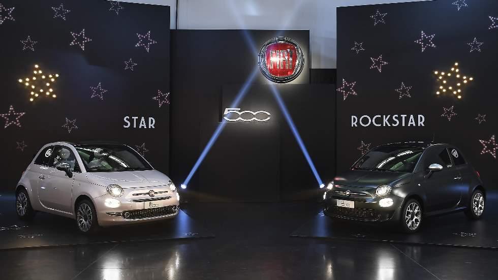 Fiat 500 Star y Rockstar: más glamour y color para el icono de la carretera