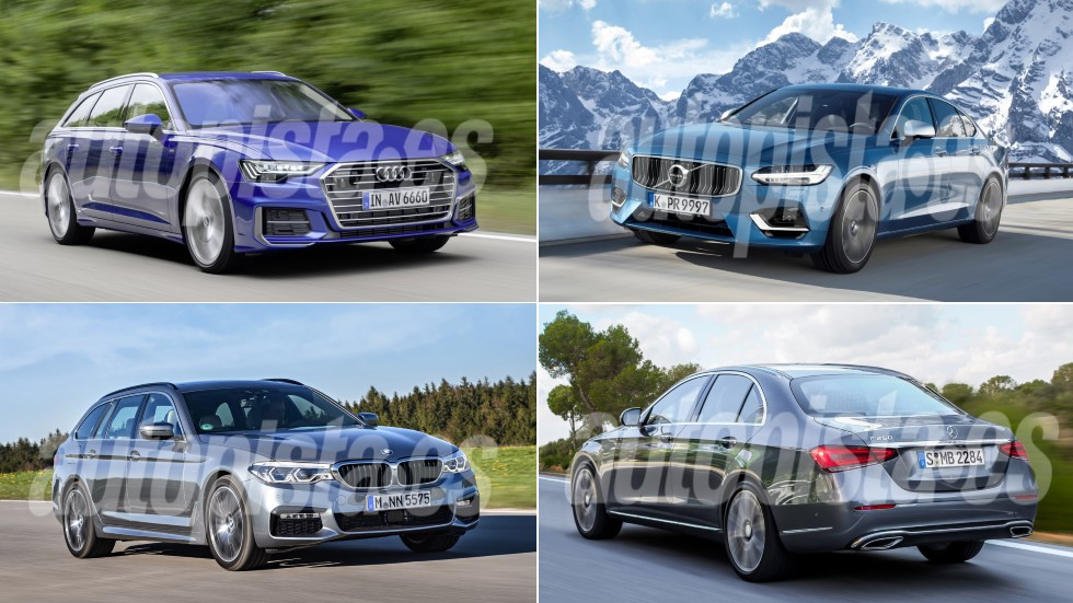 BMW Serie 5, Audi A6, Mercedes Clase E y Volvo S90: así serán las nuevas berlinas