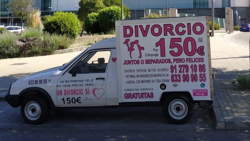 """Los vehículos del divorcio o """"divorcionetas"""": el transporte que revoluciona Madrid"""