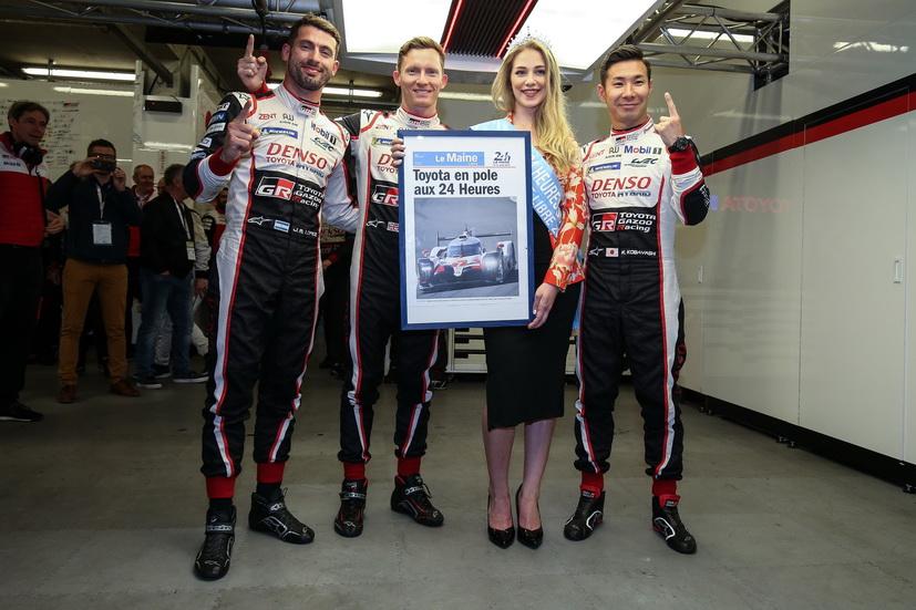 24H de Le Mans (calificación 3): doblete de Toyota, Alonso segundo
