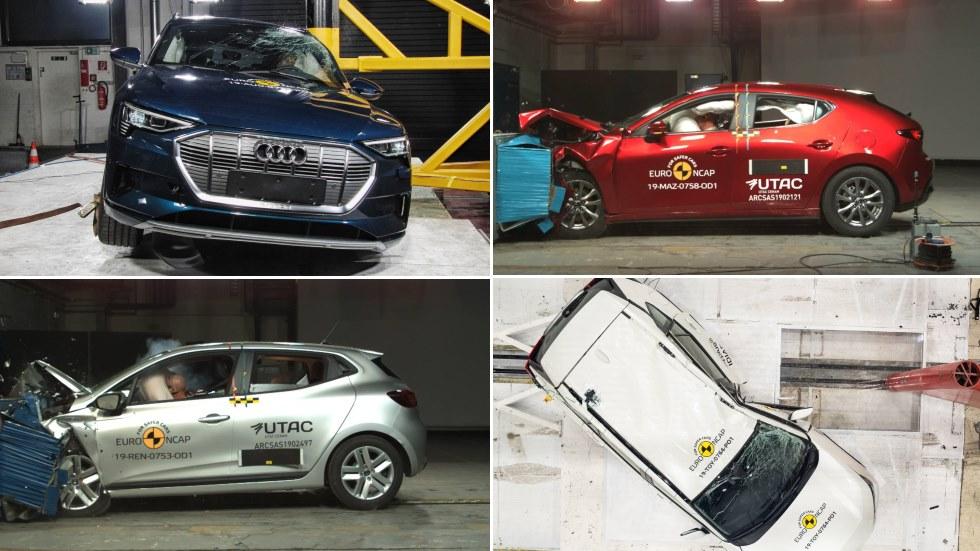En qué fallan los coches más seguros del momento: Mazda 3, Clio, Corolla, T-Cross…