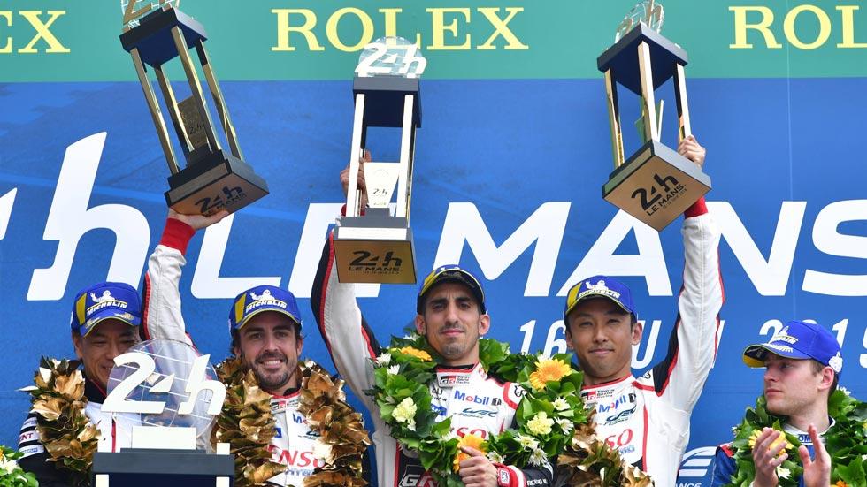 """24 de Le Mans: """"una victoria que no merecíamos en pista"""", reconoció Alonso"""