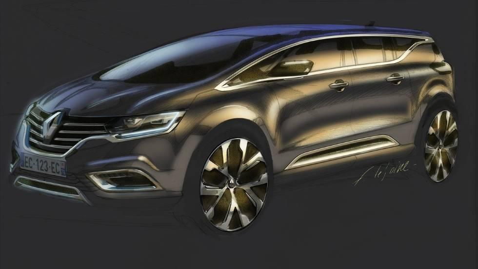 Renault Espace 2020: primeros datos del nuevo familiar que llega en otoño