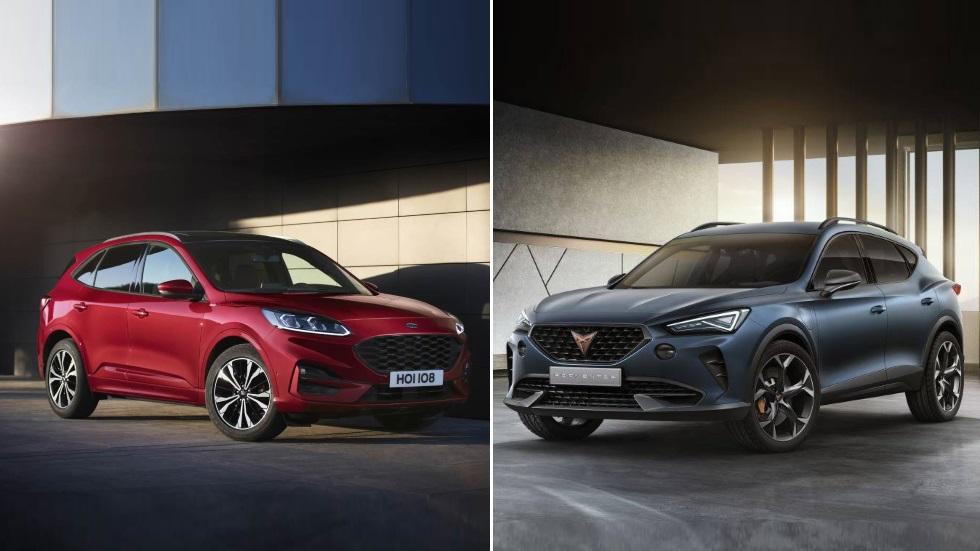 Ford Kuga 2019 vs Cupra Formentor 2020: el gran duelo de SUV compactos