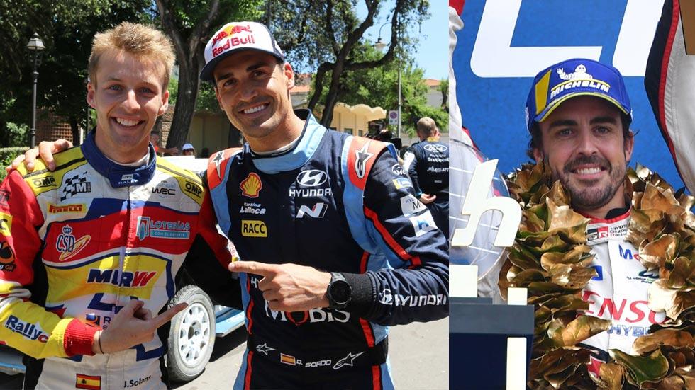 Alonso, Sordo, Solans… un domingo de carreras mágico de motor