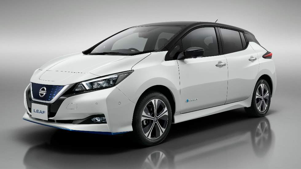Nissan Leaf 2019: nuevas versiones disponibles en el eléctrico, ya la venta en España
