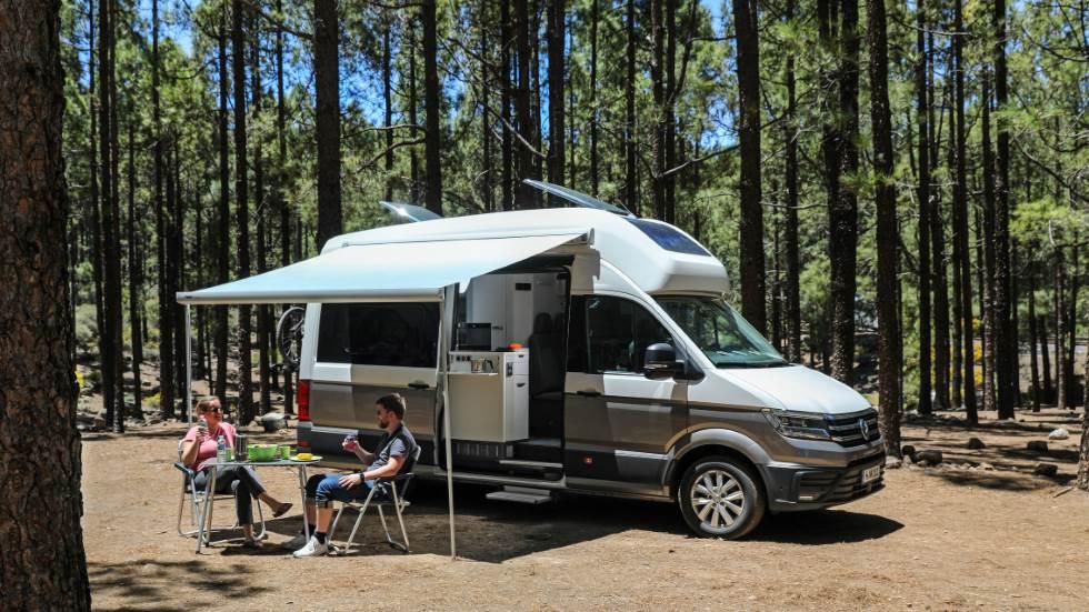 VW Grand California 2019: todas las fotos, datos y secretos del nuevo gran camper