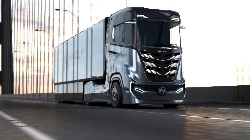 Nikola Tre, el brutal camión del futuro con hidrógeno y electricidad