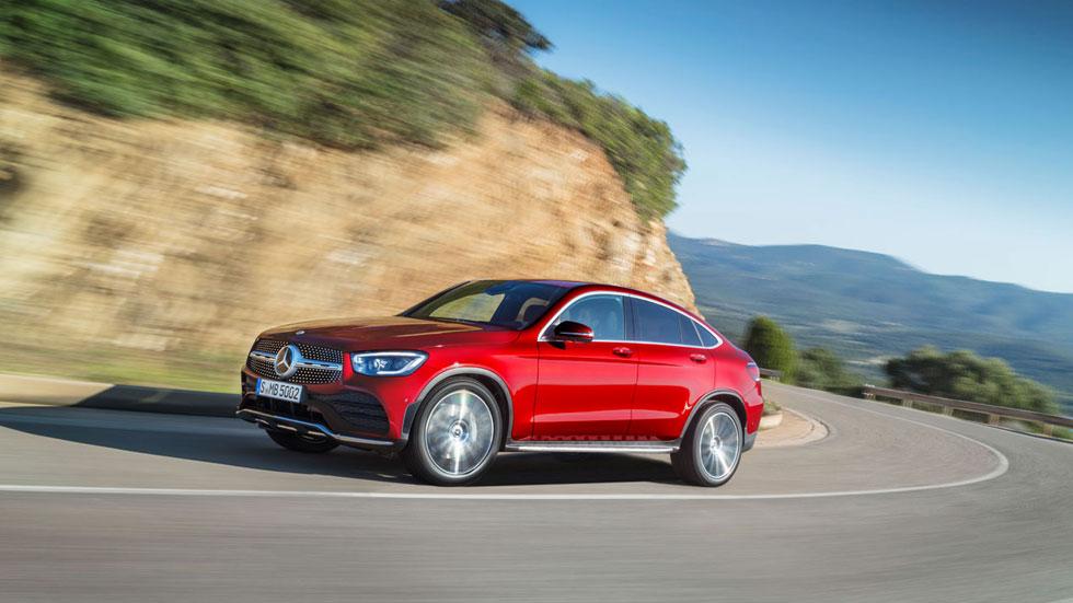 Mercedes GLC Coupé 2019: todos los precios y datos para España del nuevo SUV