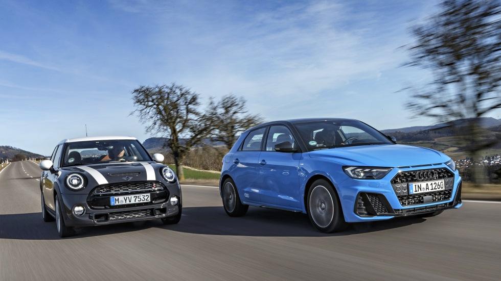 Audi A1 Sportback 40 TFSi vs Mini Cooper S: ¿cuál es el mejor utilitario de gasolina?