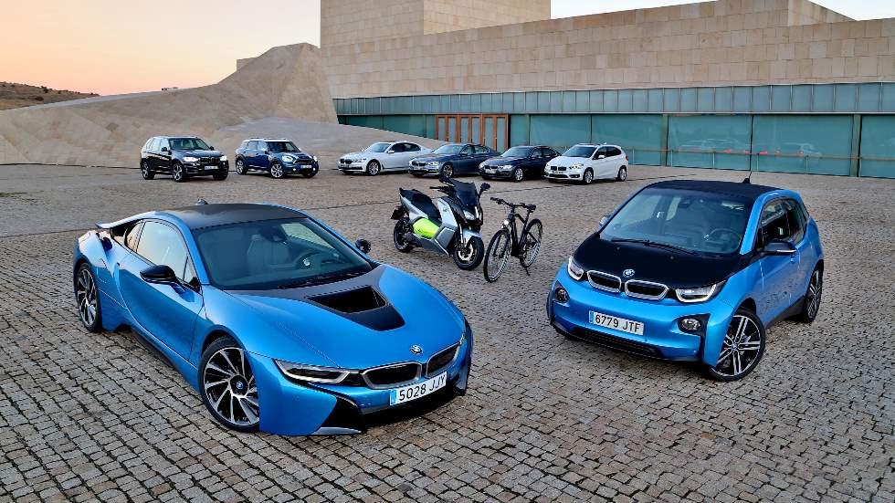 Todos los coches de BMW ya electrificados: X5, Serie 2, Serie 3, i3, i8…