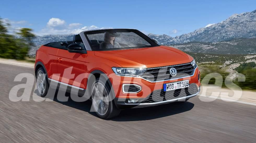 VW T-Roc Cabrio 2020: primeros datos y fotos del nuevo SUV descapotable