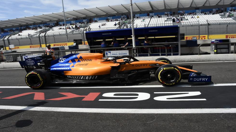 """GP de Francia de F1 (FP1): los McLaren por detrás de los """"intocables"""""""
