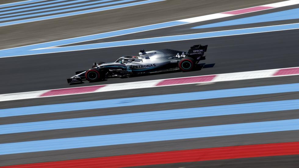 GP de Francia de F1 (FP2): dominio Mercedes y otra vez sorprendió McLaren