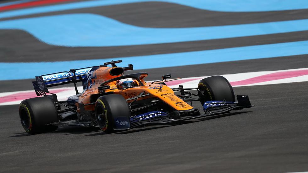 GP de Francia de F1: Carlos Sainz, entre los mejores