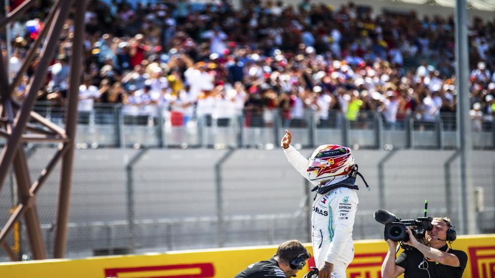 """GP de Francia de F1: """"master class"""" de Lewis Hamilton"""