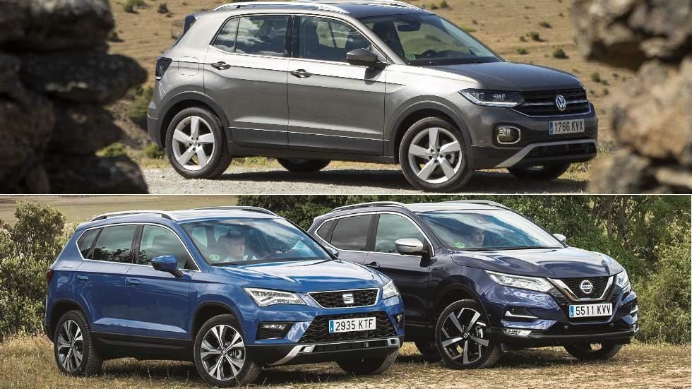 Revista Autopista 3.106: a prueba los SUV VW T-Cross, Seat Ateca y Nissan Qashqai