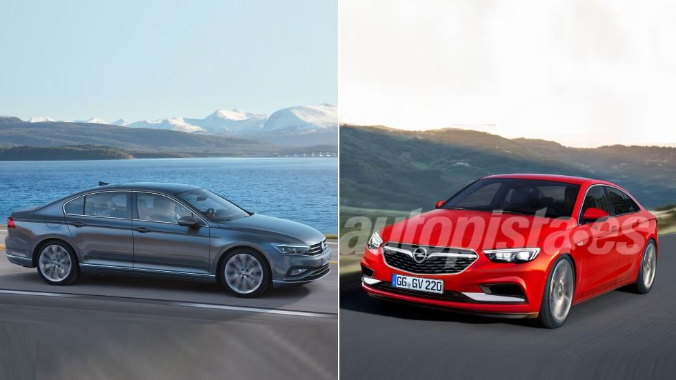 Opel Insignia 2020 vs VW Passat 2019: el gran duelo de berlinas, ¿cuál será mejor?