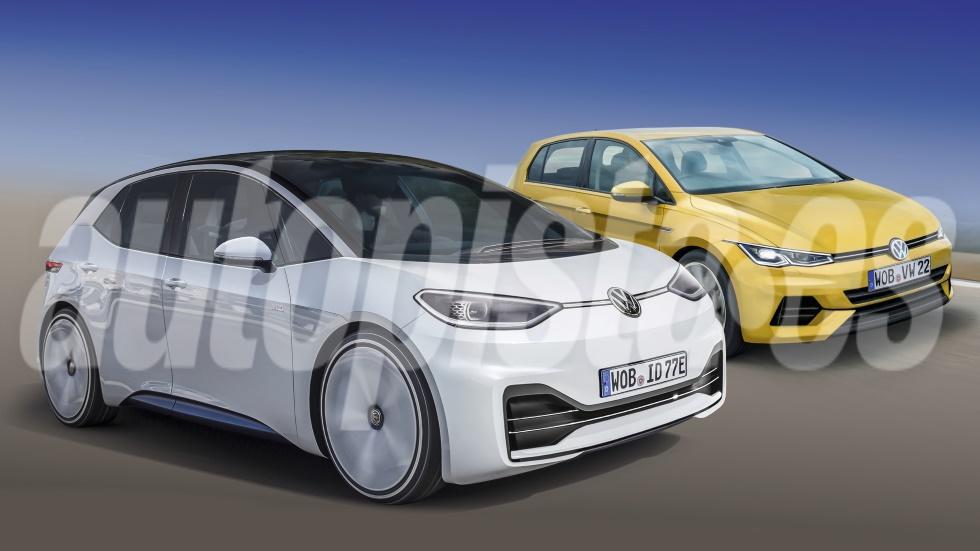 """Volkswagen Golf 8 vs VW ID.3: ¿mejor el Golf """"de siempre"""" o el nuevo compacto eléctrico?"""
