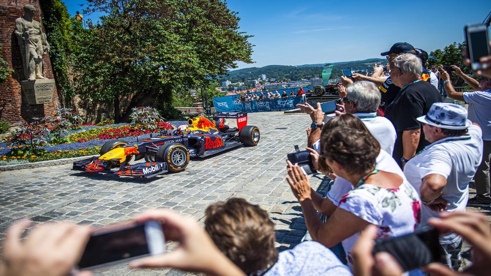 GP de Austria de F1: Max Verstappen en Graz