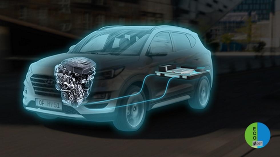Hyundai Tucson Mild Hybrid 48V: así es el SUV micro híbrido diésel, en VÍDEO