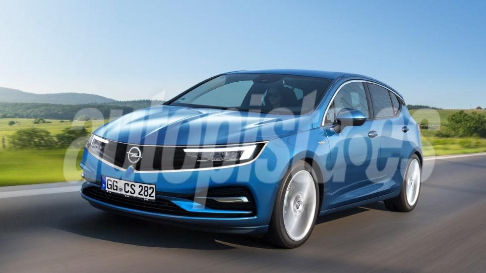 Opel Astra 2021: primeros datos oficiales del compacto, ya con base del Peugeot 308
