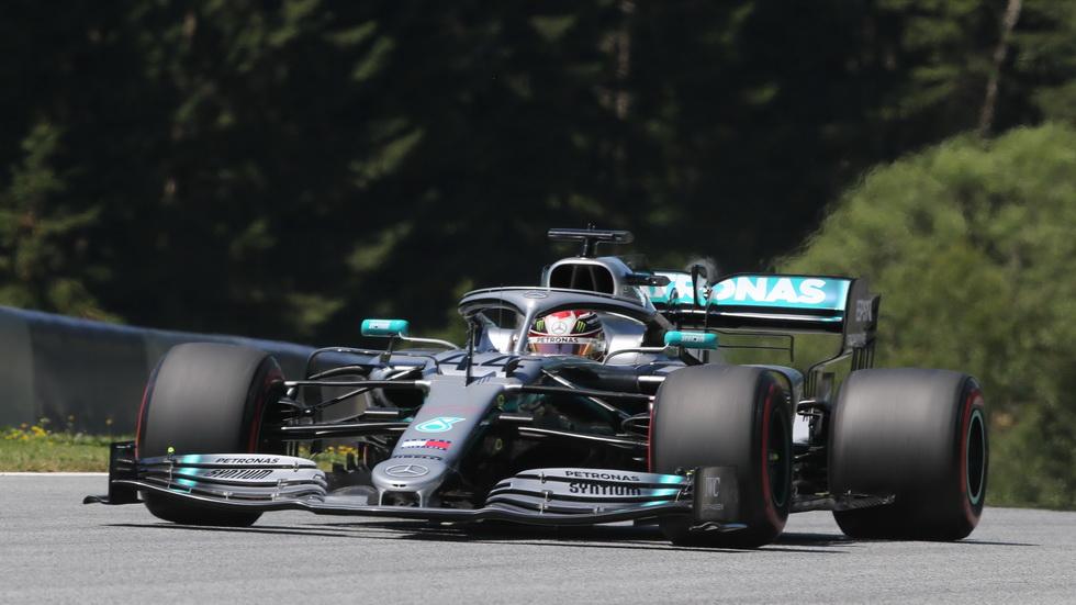 GP de Austria de F1 (FP1): los Ferrari muy cerca de los Mercedes. Sainz séptimo