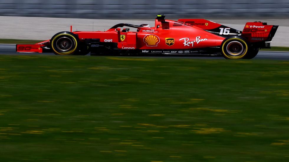 GP de Austria de F1 (FP2): Leclerc por delante de un accidentado Bottas
