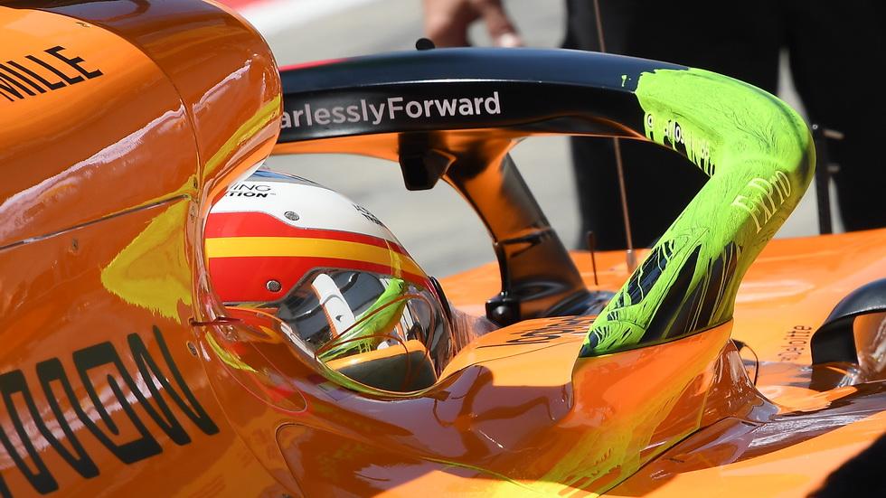 GP de Austria de F1: Sainz quinto el viernes, pero tendrá que salir al final de la parrilla