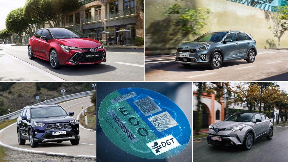 Los coches híbridos más vendidos en España: Toyota Corolla, C-HR, Kia Niro…