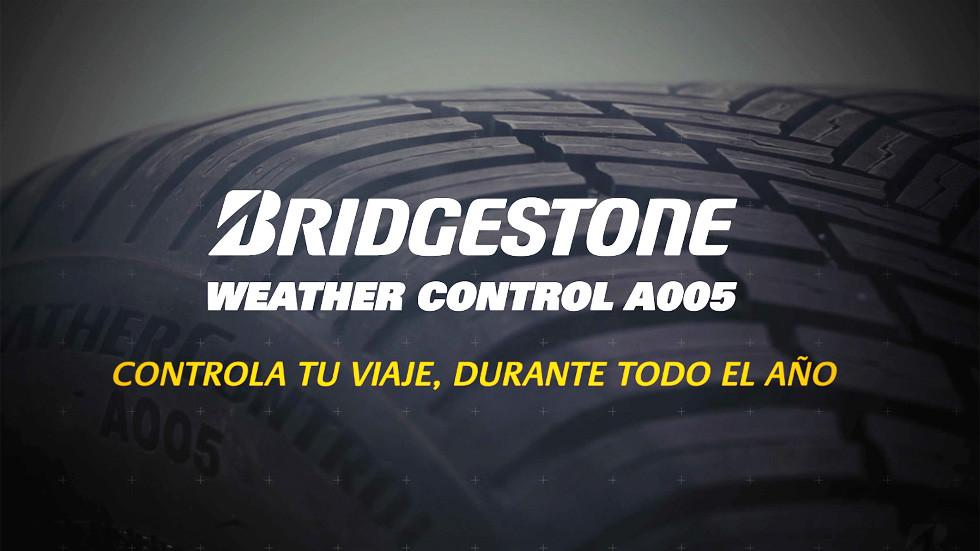 Neumáticos Bridgestone Weather Control A005: preparados para el verano