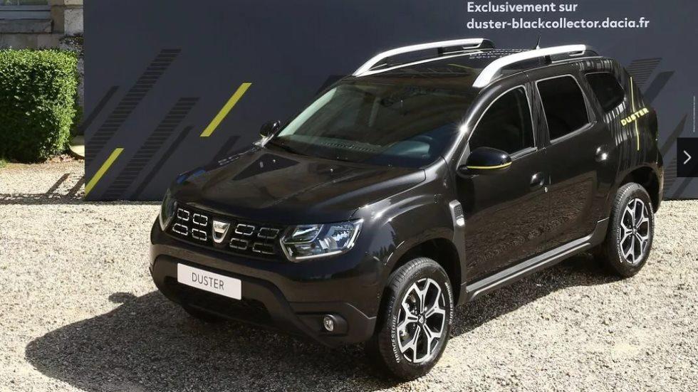 Dacia Duster Black Collector: serie limitada del SUV, a la venta online