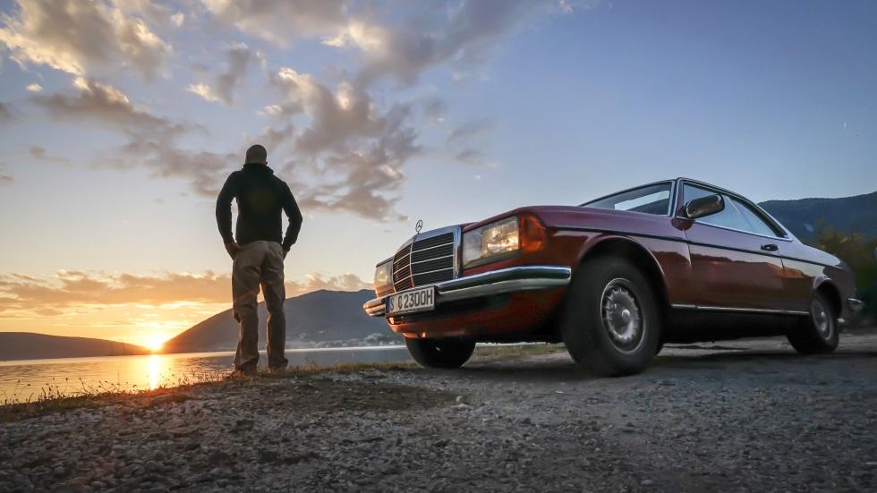 Lo mejor de Albania en ruta con un Mercedes W 123 Coupé: ¡impresionante!