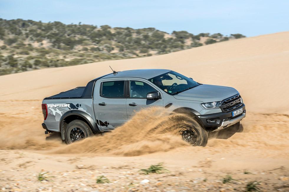 Ford Ranger Raptor: a prueba lo más bestia de Ford