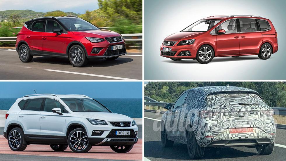 Seat anuncia para 2020 la renovación de la gama de sus coches...  y el nuevo León