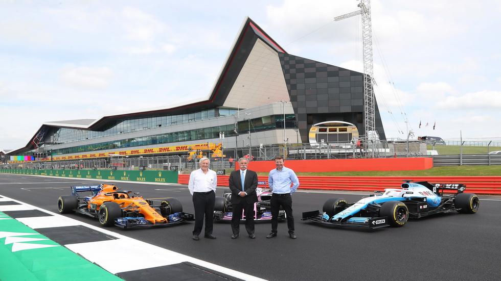 GP de Gran Bretaña de F1: cinco años más en Silverstone